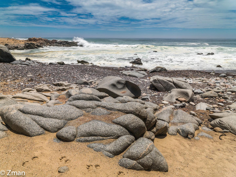 Granite Rocks at Skeleton Coast