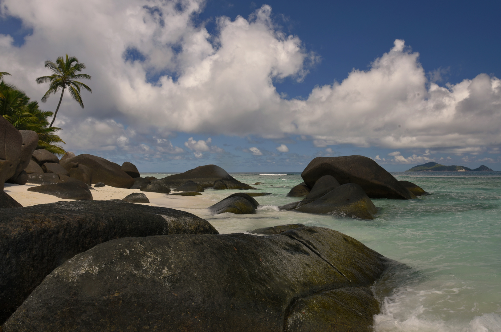 Granitfelsen der Seychellen