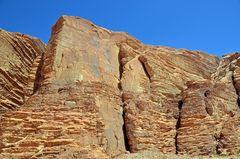 Granitfelsen im Wadi Rum