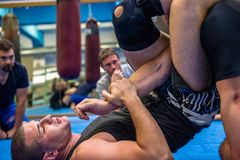 grappling submission