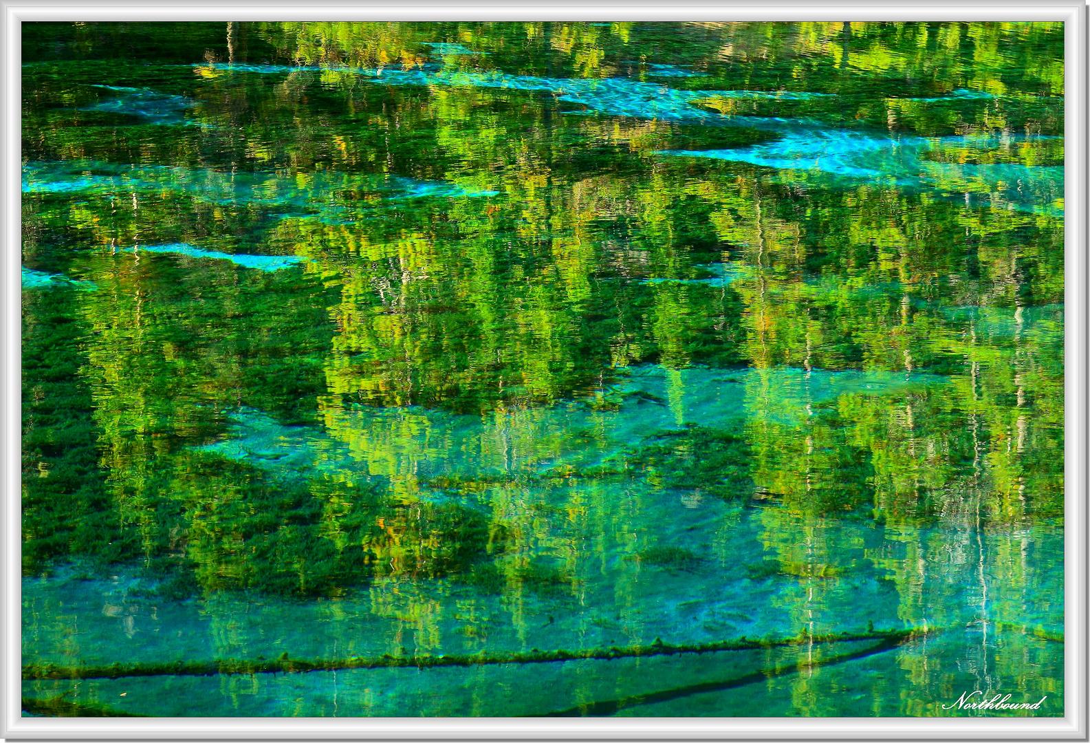 Grassi Lake kaleidoscope
