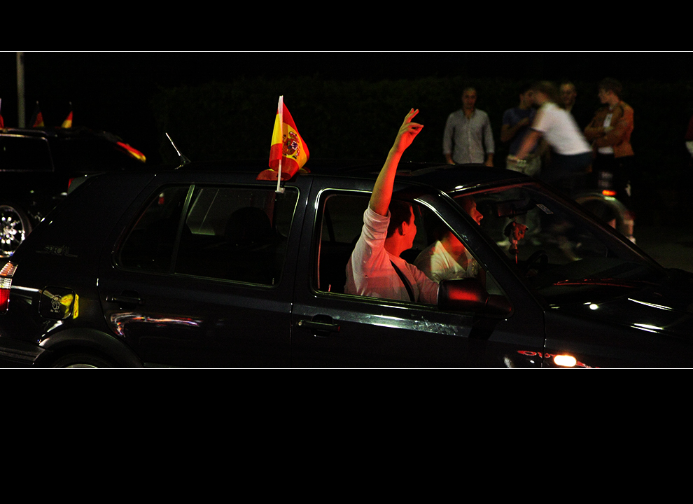Gratulation an Spanien