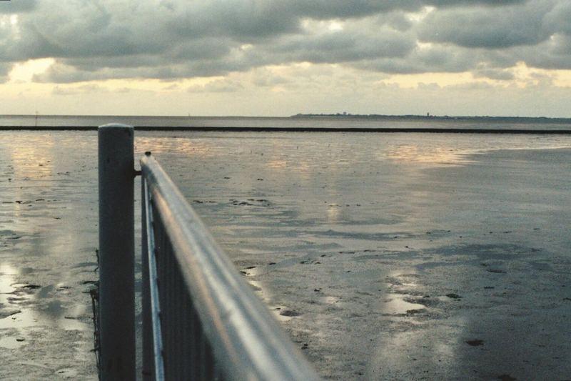 Grau in grau...das Wattenmeer...