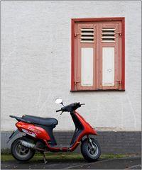 Grau - Rot