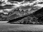 graue landschaft