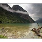 Graue Wolken über dem Königssee