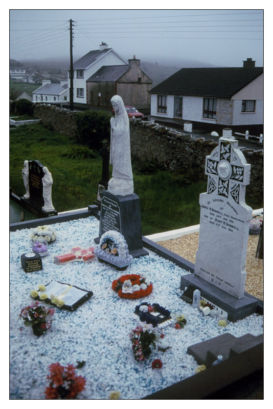 Graveyard; as good as is gets / Donegal / Ireland
