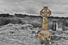 Graveyard in Killala, Ireland, County Mayo, Killala