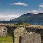 Graveyard near Skipness Castle