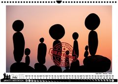 Gravity Meditation Calendar 2015 JULY