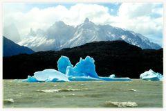 Gray Gletscher- Millionen Jahre altes Eis