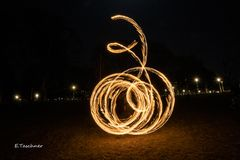 Graz, Augarten, Lightpainting (3)
