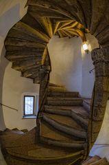 Graz - gotische Doppelwendeltreppe