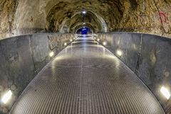 Graz - im Schlossbergtunnel
