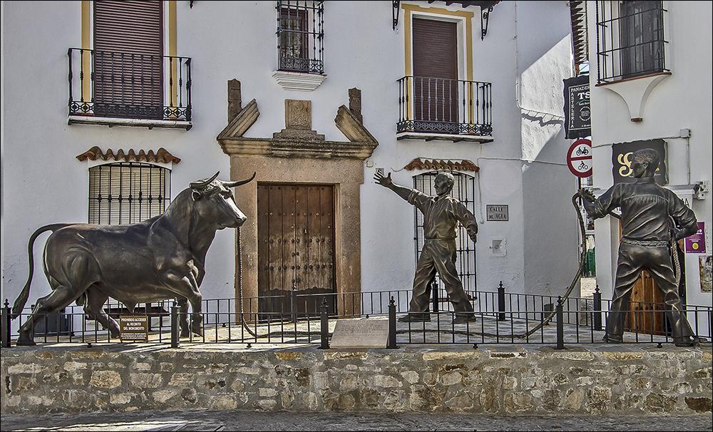 Grazalema und sein Stier