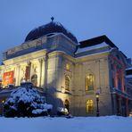 Grazer Oper im Winter