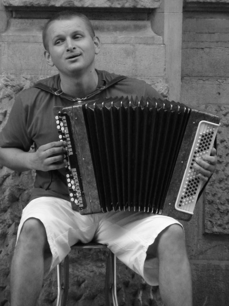 Great East Europe Street Musician