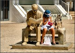 Great....I found a little girl reading.