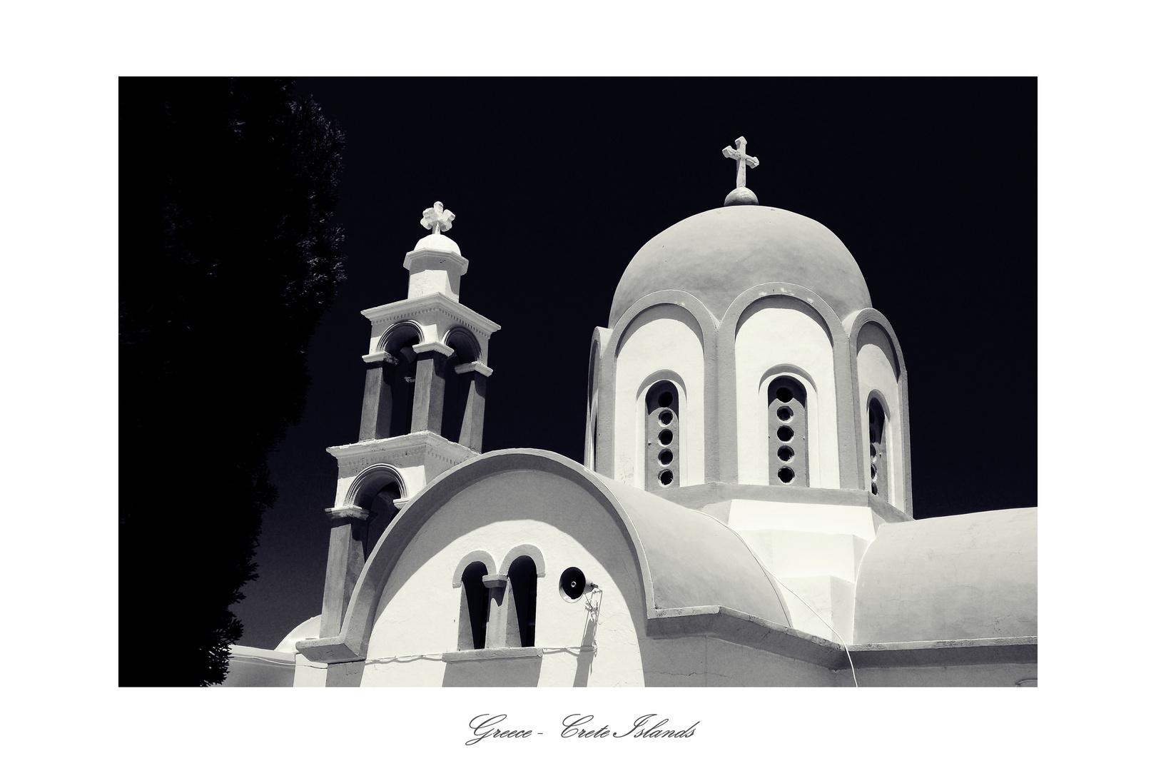 "Greece-Crete Islands ""Church"""