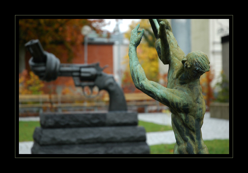 Greek mythology and non violence