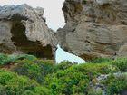 Greek Rock Formation