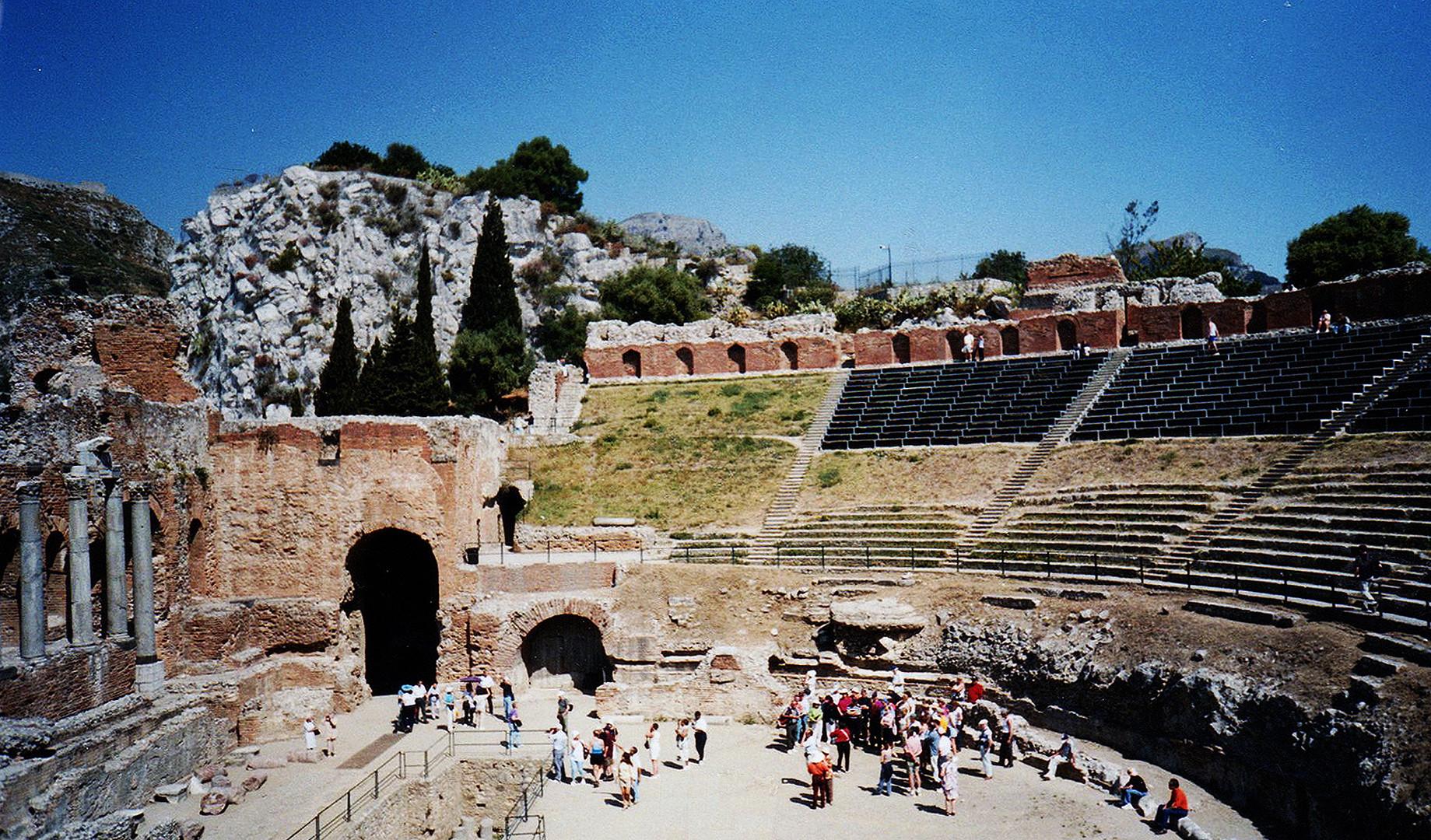 GREEK THEATRE - TAORMINA, SICILY
