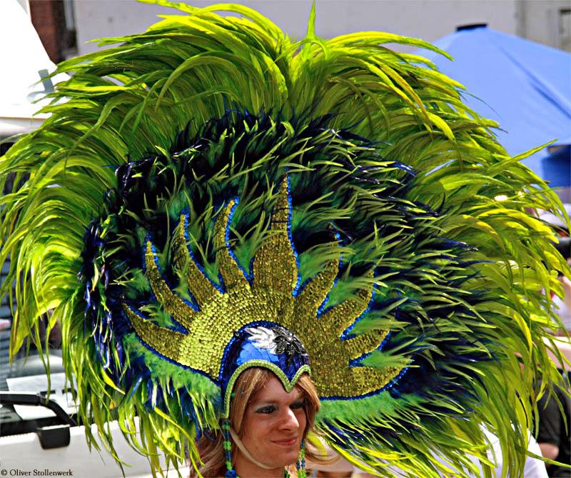 Green Featherhat