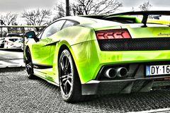 green gallardo..