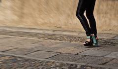 *green heels*