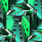 Green Metallic City