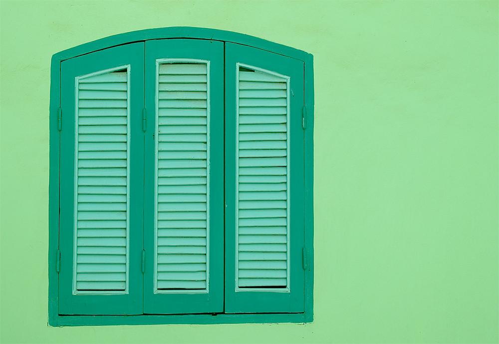 Green Window...