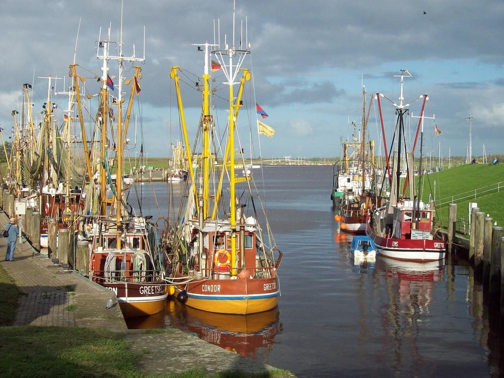 Greetsielerhafen am Nachmittag