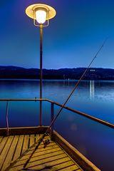Greifensee zur blauen Stunde