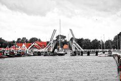 Greifswald - Wiecker Historische Klappbrücke