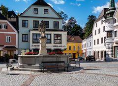 Greiner Stadtansichten - Stadtbrunnen