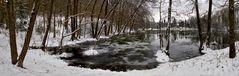 Greither Teich im zurückgekehrten Winter!