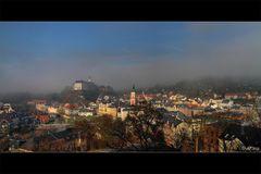Greiz im Nebel