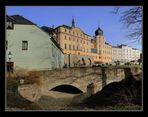 Greiz - Unteres Schloss und Gymnasium