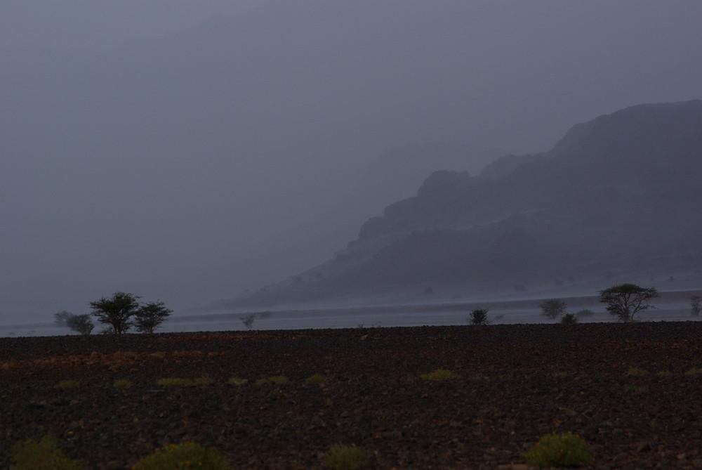 Grèle aux portes du désert, Ouarzazate