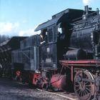 Gremberg 1966 mit 55 5414 als A-Lok (Kiesgrube)