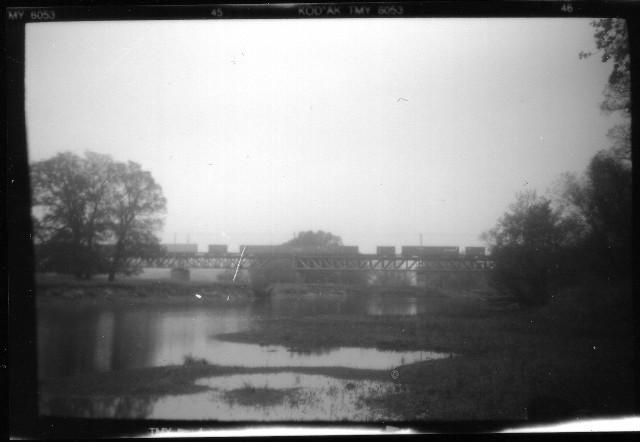 Grenzbrücke über die Oder