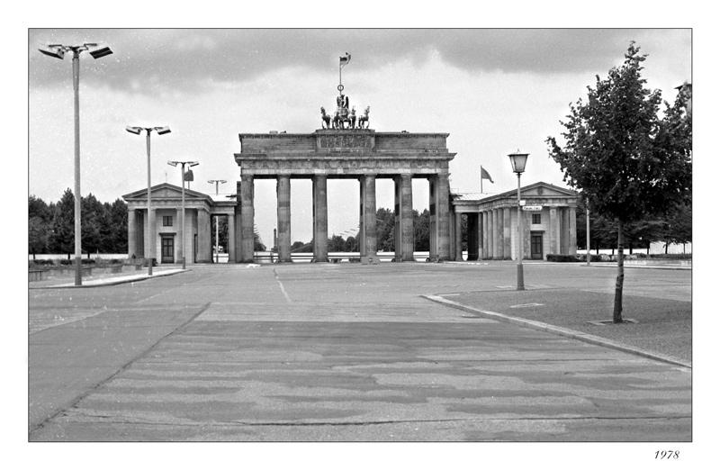 Grenzfall Brandenburger Tor   1978