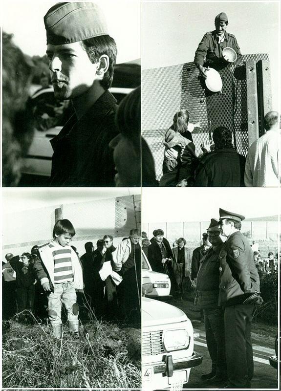 grenz ffnung 1989 iv begegnungen foto bild reportage dokumentation zeit geschichte. Black Bedroom Furniture Sets. Home Design Ideas