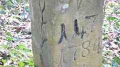 Grenzstein im Bietigheimer Forst