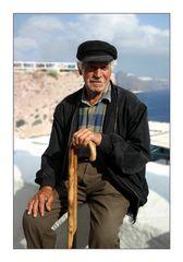 Grieche aus Oia