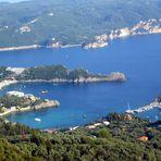 Griechenland Insel Korfu - eine der schönsten Buchten von Paleokastritsa