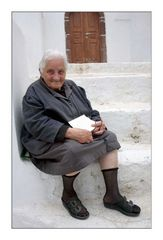 Griechin aus Pyrgos