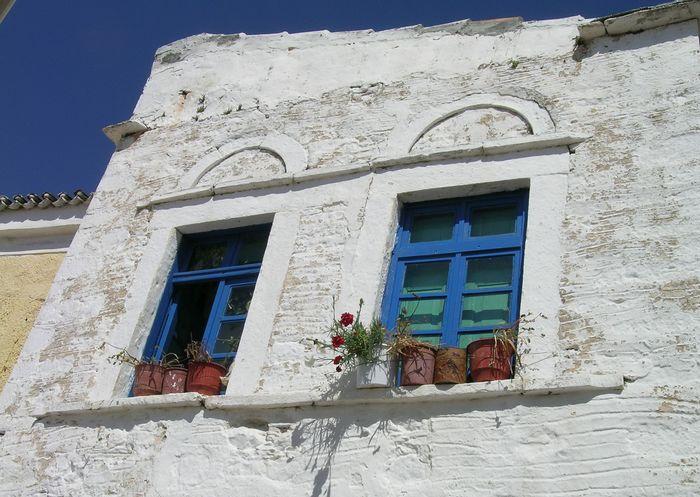 griechisches Blau-Weiss