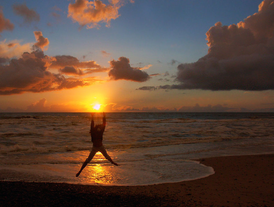 Griff nach der Sonne