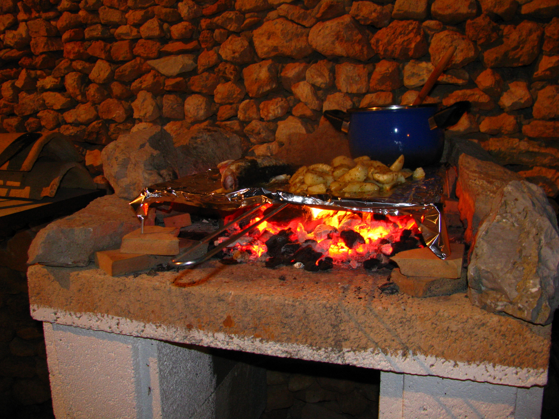 Grillen am Abend